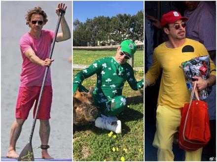 Hoa mắt với thời trang ngoài đời của 'Iron Man' Robert Downey Jr: đố ai tìm được màu nào chú đây chưa thử?