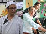 Nam Thư cẩn thận cởi giày thắp nhang vĩnh biệt nghệ sĩ Lê Bình trong đêm viếng cuối-20