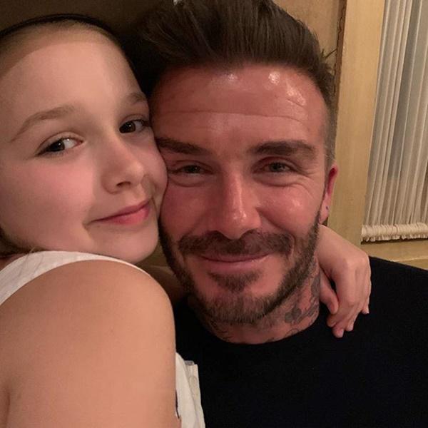 David Beckham đón sinh nhật ngọt ngào bên vợ và bốn con-2