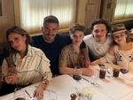 David Beckham đón sinh nhật ngọt ngào bên vợ và bốn con