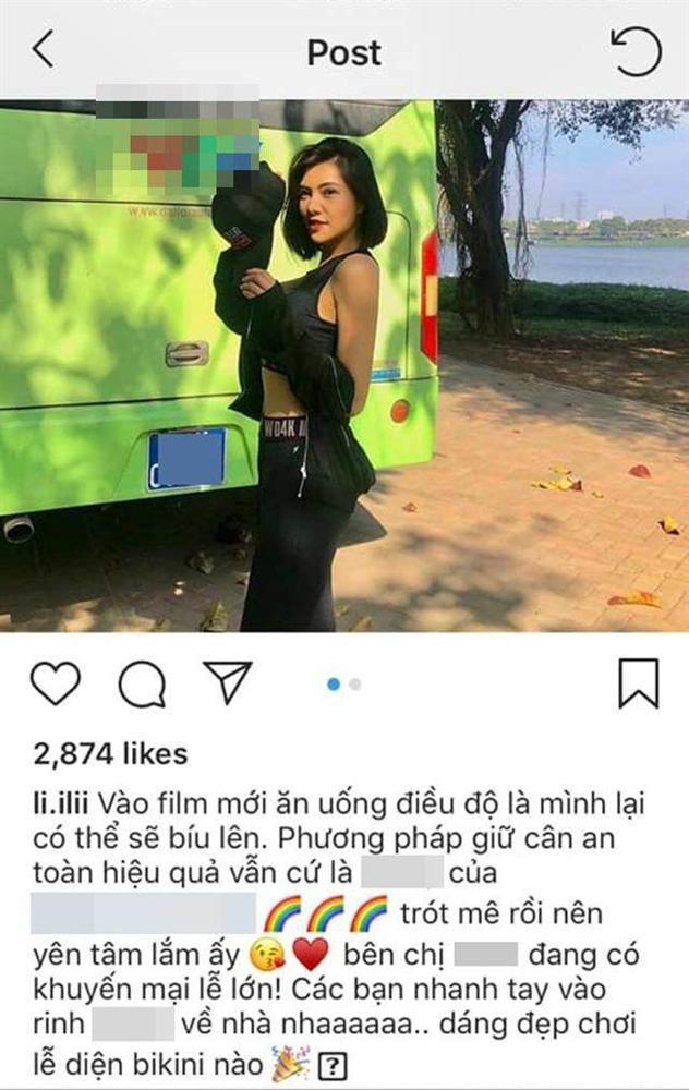 Lưu Đê Ly bị tố gian dối khi quảng cáo thuốc giảm cân: đã lấy ảnh cũ còn photoshop bẻ cong vạn vật-1