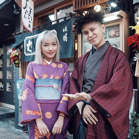 Học Châu Bùi, Decao cách tạo dáng chụp ảnh khi du lịch cùng người yêu-11