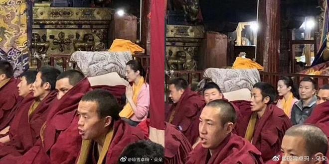 Phạm Băng Băng đến Tây Tạng bái Phật Tổ-1