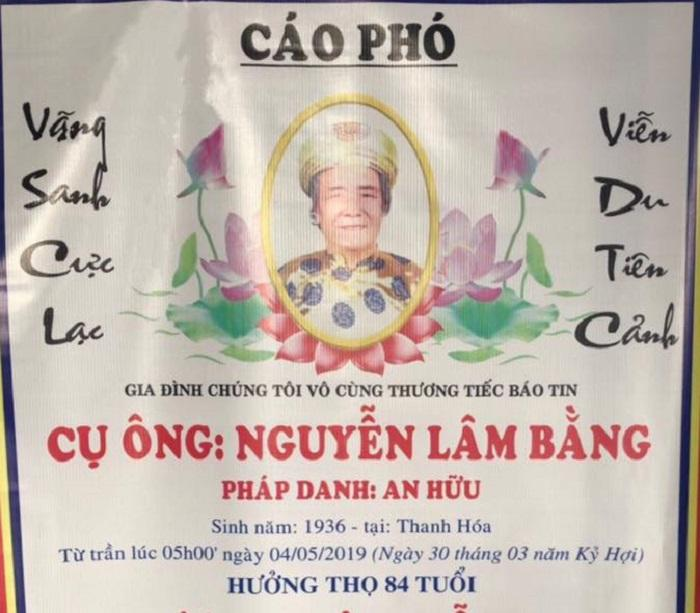 NSƯT Hoài Linh, Lê Giang chia buồn trước tin bố Việt Hương qua đời ở tuổi 84-1