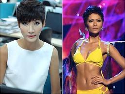 SHOCK: Hoàng Thùy quyết định cắt tóc ngắn y chang H'Hen Niê để chinh chiến Miss Universe 2019?