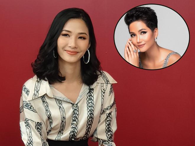 SHOCK: Hoàng Thùy quyết định cắt tóc ngắn y chang HHen Niê để chinh chiến Miss Universe 2019?-1