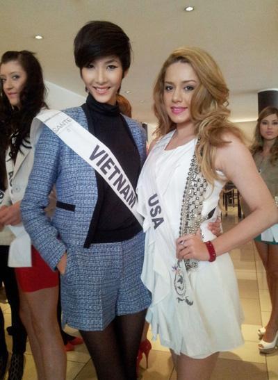 SHOCK: Hoàng Thùy quyết định cắt tóc ngắn y chang HHen Niê để chinh chiến Miss Universe 2019?-6