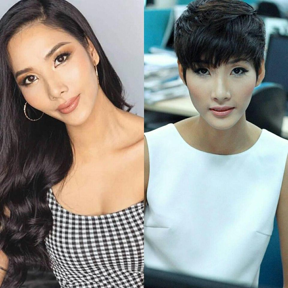 SHOCK: Hoàng Thùy quyết định cắt tóc ngắn y chang HHen Niê để chinh chiến Miss Universe 2019?-10
