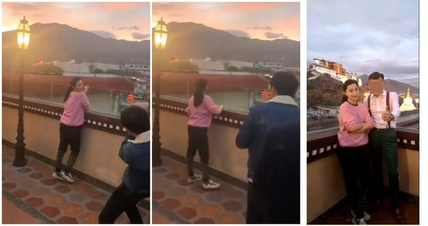 Ngày thứ 2 thiện nguyện ở Tây Tạng, Phạm Băng Băng phải thở oxy vì thời tiết-6