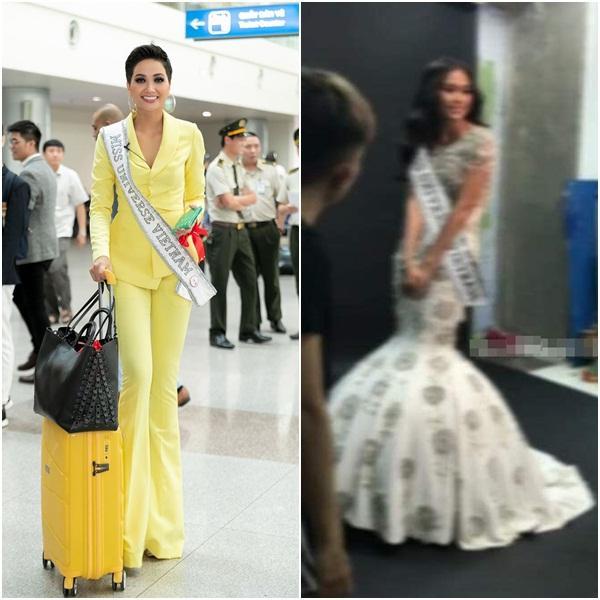 Lộ ảnh Mâu Thủy mới là người đeo dải băng Việt Nam thi đấu Miss Universe 2019 chứ không phải Hoàng Thùy?-5