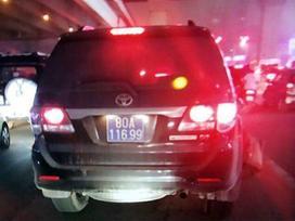 Tạm đình chỉ tài xế xe Fortuner biển xanh gây tai nạn rồi bỏ chạy