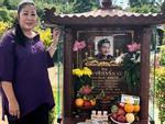 Hồng Vân - Minh Nhí - Quốc Thuận tới lễ cúng 49 ngày mất của cố nghệ sĩ Anh Vũ-17