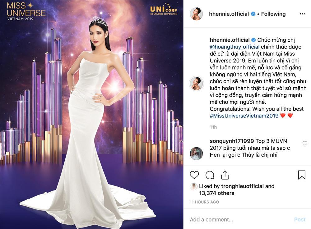 Vừa thông báo Hoàng Thùy tiếp bước thi Miss Universe, HHen Niê lại đốn tim fan với một bảo bối-1