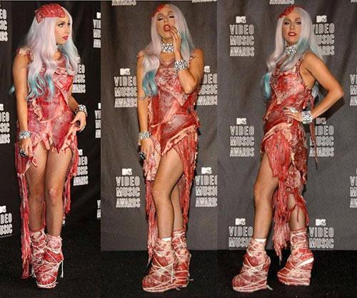 Lady Gaga làm lố lột đồ 3 lần ở Met Gala 2019 cũng chưa thảm họa bằng bộ cánh thịt sống cực gắt 1 thời-9