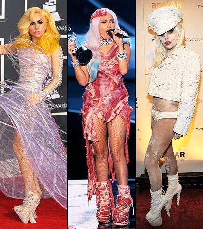 Lady Gaga làm lố lột đồ 3 lần ở Met Gala 2019 cũng chưa thảm họa bằng bộ cánh thịt sống cực gắt 1 thời-8