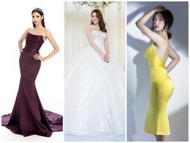 Lê Hà lộng lẫy như công chúa - Hoàng Thùy vừa xác nhận thi Miss Universe đã lập tức lọt top sao mặc đẹp