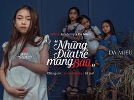 'Những đứa trẻ mang bầu': Bộ ảnh gây rúng động về xâm hại trẻ em