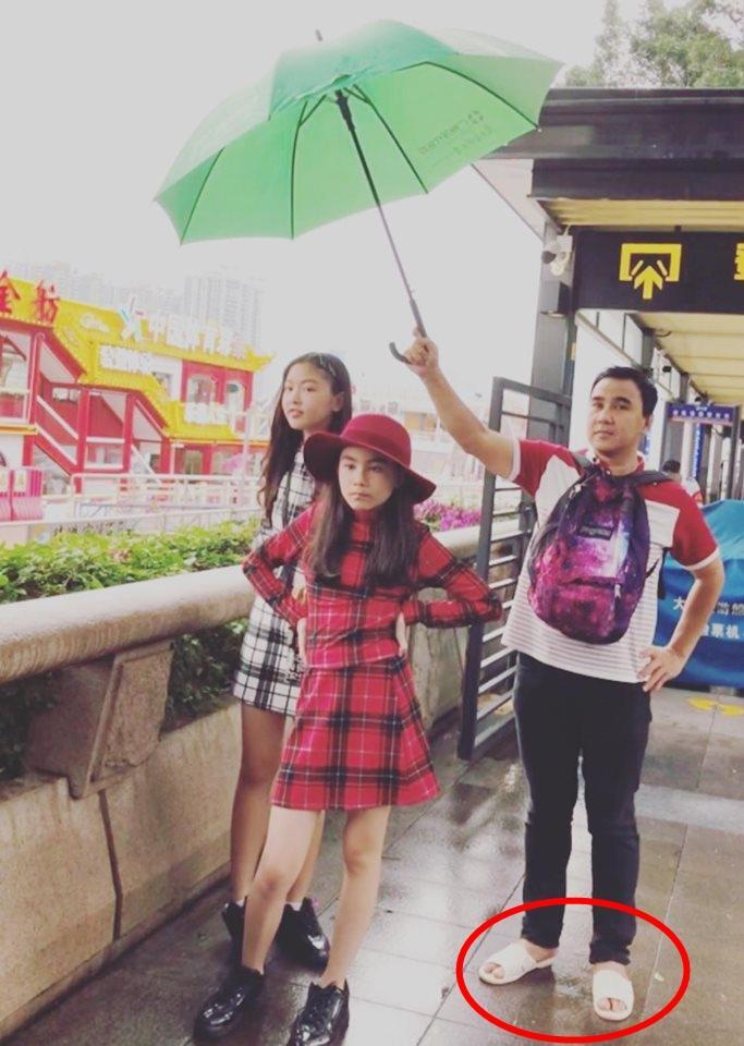 Cư dân mạng đòi hải quan tịch thu một thứ đồ rất đáng yêu của MC Quyền Linh khi đi du lịch với gia đình-4