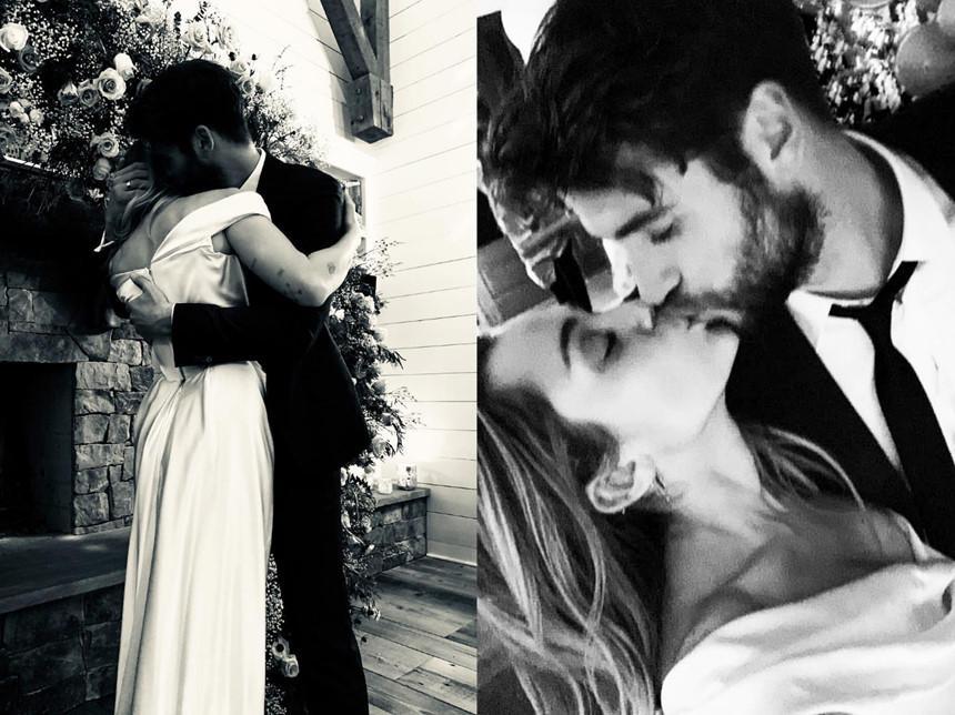 Kinh hoàng với sở thích quái dị của Miley Cyrus: Thè lưỡi liếm mặt, liếm áo chồng mọi lúc mọi nơi-5