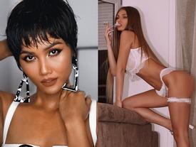 Bản tin Hoa hậu Hoàn vũ 8/5: 'Quả bom sex' giật spotlight của H'Hen Niê với ảnh hở hang hút thuốc
