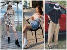 Chị em nhà Thiều Bảo Trang - Thiều Bảo Trâm khoe street style đối nghịch: Em sexy hết cỡ - chị hiphop chất lừ