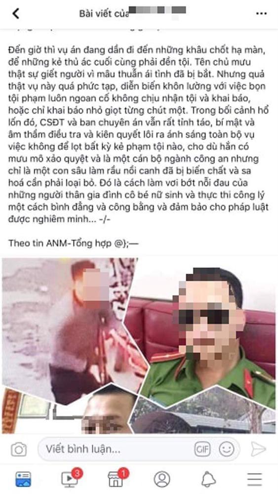 Người đưa tin thiếu úy công an bị bắt vì chủ mưu vụ nữ sinh giao gà để câu view… bị mời về đồn-2