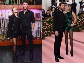 Sau màn 'thè lưỡi liếm mặt' chồng tại Met Gala 2019, Miley ngấm ngầm xác nhận mang thai con đầu lòng với Liam Hemsworth
