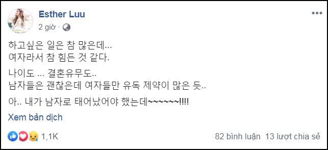 Đang hạnh phúc bên Trấn Thành, Hari Won ủ rũ đăng đàn gây hoang mang: Đáng lẽ tôi nên là đàn ông-1