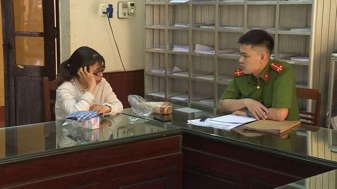 Người đưa tin thiếu úy công an bị bắt vì chủ mưu vụ nữ sinh giao gà để câu view… bị mời về đồn-1