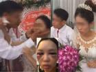 Sốc trước ảnh cô dâu bị đánh bầm tím mặt vì từ chối hôn chồng trong đám cưới và sự thật nhiều người ngã ngửa