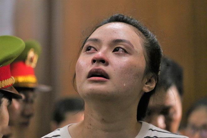 Hot girl Ngọc Miu nước mắt ròng ròng khi đối mặt 20 năm tù, trùm ma túy Văn Kính Dương bị đề nghị án tử-3