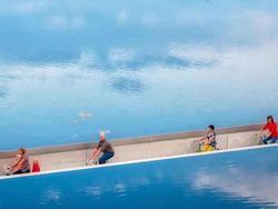 Con đường xuyên mặt hồ hút 5.000 lượt đạp xe mỗi ngày tại Bỉ