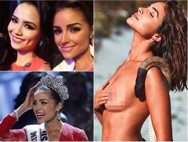 Bản tin Hoa hậu Hoàn vũ 9/5: Cố nhân 7 năm không gặp của Diễm Hương phơi ngực trần quá táo bạo