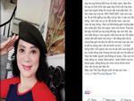 NSƯT Hương Dung bức xúc vì con trai Hà Duy bị đồn lộ clip nóng