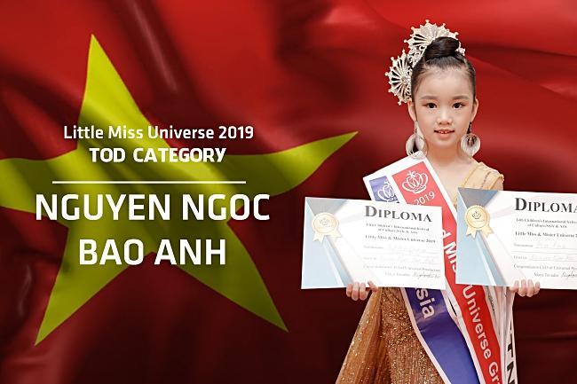 Đại diện Việt Nam đăng quang Hoa hậu Hoàn vũ nhí thế giới 2019-1