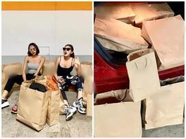 Đẳng cấp như Kỳ Duyên - Minh Triệu: Chỉ shopping 'đi bộ cùng nhau' thôi mà cuối cùng vác cả siêu thị về nhà