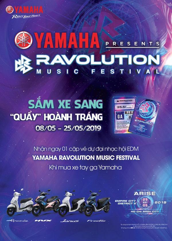 Dự lễ hội EDM lớn nhất hè này cùng Yamaha-1