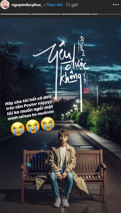 Vì sợ cô đơn nên Đức Phúc mặc kệ đúng sai, nhờ fan ghép ảnh teaser MV và nhận ngay cái kết đắng-2
