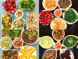 Mâm cơm của vợ đảm khiến chồng đi đâu cũng nhớ về nhà ăn cơm