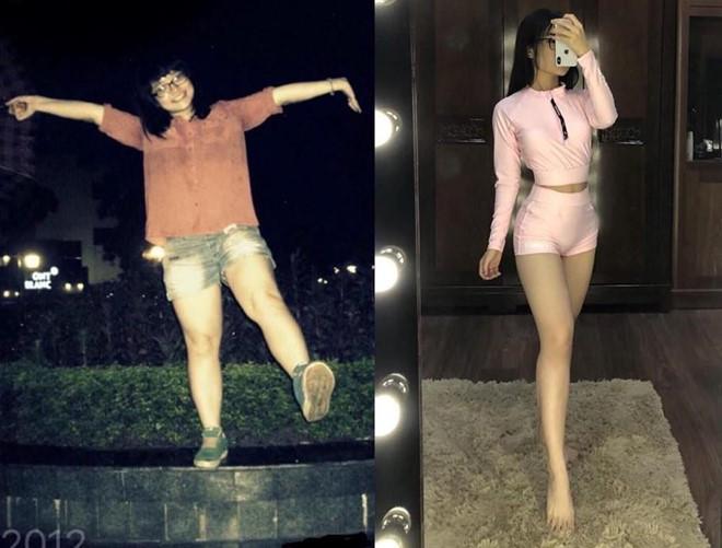 Cô gái giảm 12 kg, lột xác ngoạn mục sau khi chia tay bạn trai-1
