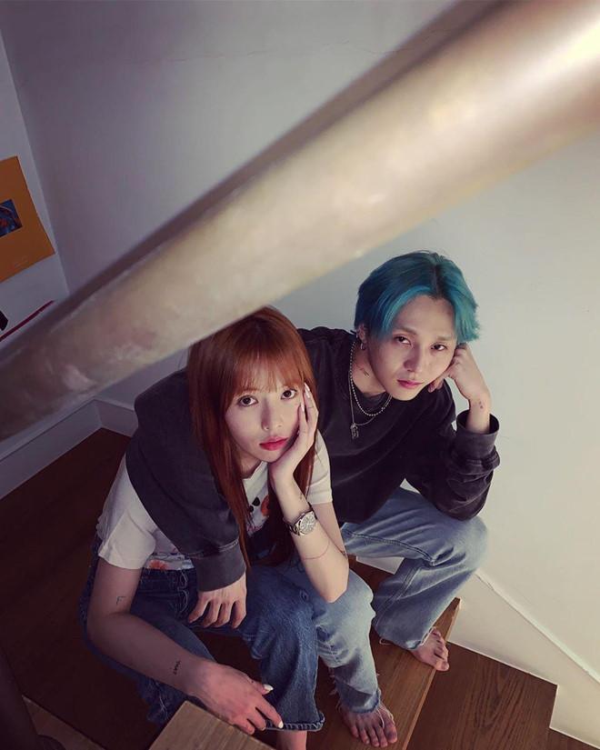 Bạn trai phờ phạc trong bộ ảnh kỷ niệm 3 năm yêu nhau với Hyuna-1