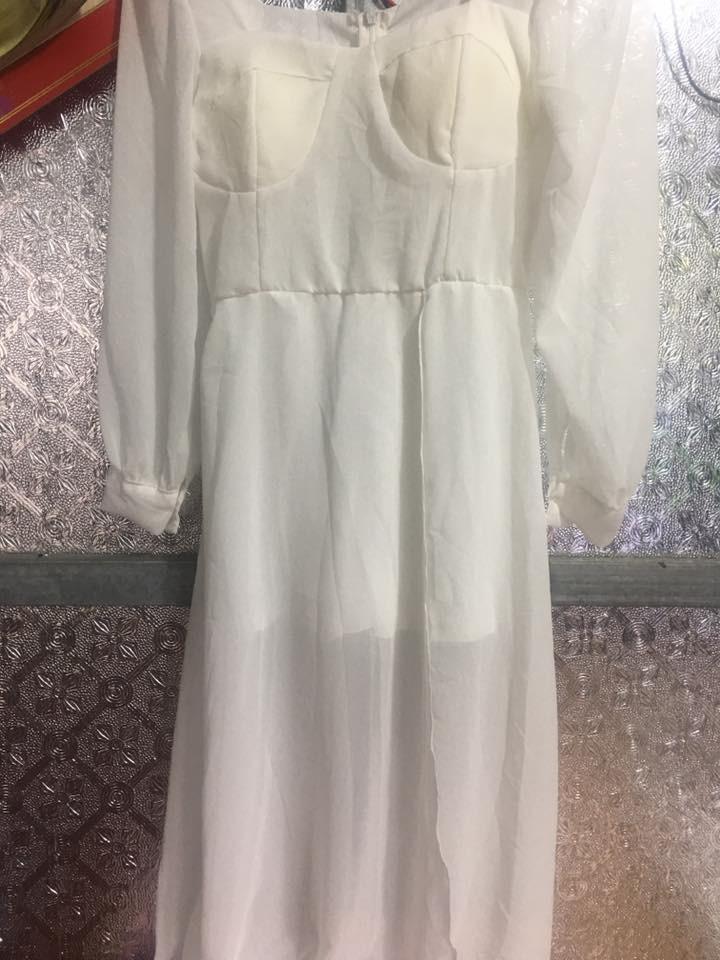 Thảm họa mua hàng online: mua đầm trắng sương sương mà nhận về trang phục y hệt mẹ ma than khóc-2