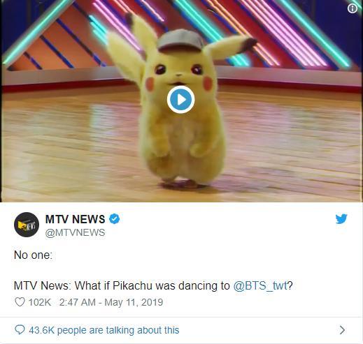 Pikachu nhảy Boy With Luv của BTS siêu dễ thương chính là clip gây bão nhất tuần qua, bạn đã xem chưa?-4