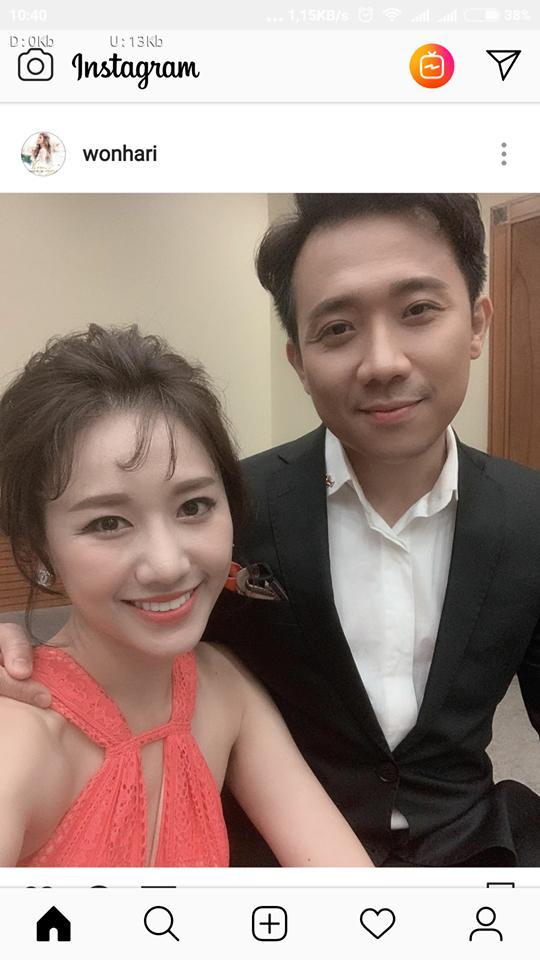 Hào hứng khoe ảnh cùng bà xã Hari Won, Trấn Thành không ngờ bị chê nhan sắc cằn cỗi-1