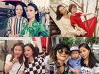 Dàn hot girl nhan sắc nổi bật hoá ra đều được thừa hưởng từ mẹ