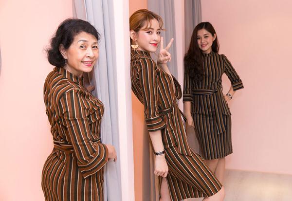 Happy Mothers Day: Hãy mặc đồ đôi hai chị em với mẹ như Chi Pu nào!-2