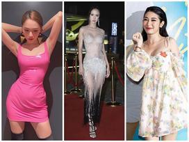 SAO MẶC XẤU: Hương Giang lộ bụng to tướng - Khổng Tú Quỳnh xuề xòa mặc 'váy ngủ' dự sự kiện