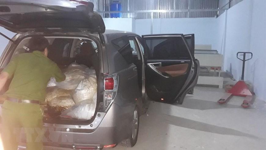 Hình ảnh vụ bắt nhóm người nước ngoài vận chuyển 500kg ma túy-11