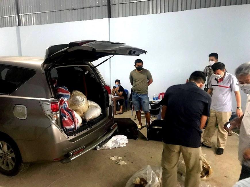 Hình ảnh vụ bắt nhóm người nước ngoài vận chuyển 500kg ma túy-5