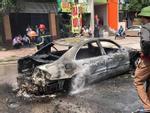 Xe khách cháy rụi khi đang chạy trên cao tốc Hà Nội - Bắc Giang-3